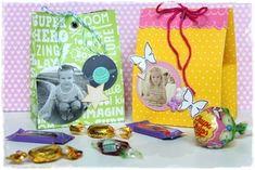 Vyrobte pro děti balíčky na sladkosti s jejich fotkou. :-) Lunch Box, Scrapbooking, Tutorials, Fimo, Bento Box, Scrapbooks, Memory Books, Scrapbook, Wizards