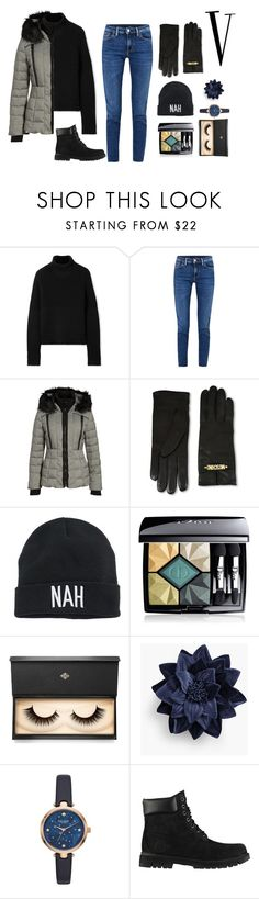 """""""New Year V"""" by dark-lee on Polyvore featuring Burberry, Acne Studios, GUESS, Moschino, Mudd, Christian Dior, Lash Star Beauty, Talbots, Kate Spade and Timberland"""