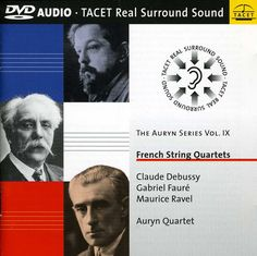 Auryn Quartet - Auryn Series: Vol. 9: French String Quartets, Blue