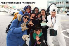 'Infinity Challenge' members spotted in New York City