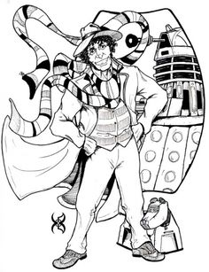 dr who coloring pages 108 Best coloring Super Who Lock images | Coloring books, Coloring  dr who coloring pages