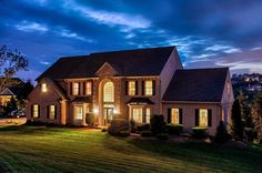 Could your home listing use a beautiful twilight photo like this? Contact us today - 717.360.8687 - Real Estate Exposures