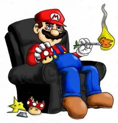 Funny Pot Cartoons | Cartoon Characters Smoking Weed Pictures