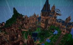 Halion - Imgur Minecraft Mansion Tutorial, Minecraft Castle, Front Gates, Entry Gates, Throne Room, Before Sunset, The Monks, The Locals, Sunrise