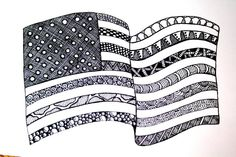 patriotic zentangle#Repin By:Pinterest++ for iPad#