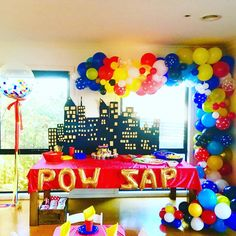 "40 Likes, 2 Comments - This Little Party (@thislittleparty) on Instagram: ""The balloon arch is always the hero of a party set up 🎈👌👏"""