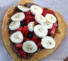 Nutella Waffle Sandwich With Fruit -  Sleepy Hollow Refreshments in the Magic Kingdom