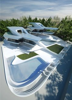 #Zaha Hadid Nassim Villas in Singapore