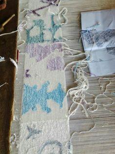 Flat weaves Knots, Weaving, Flat, Wool, Bass, Loom Weaving, Crocheting, Knitting, Hand Spinning