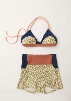 Coast to My Heart Swimsuit Top in Pinwheel. Delight in the way way your heart flutters as you ride the perfect swell in this richly hued bikini by Seea. #multi #modcloth