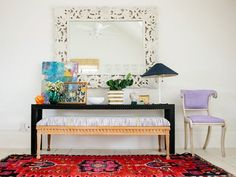 IKEA Rugs: Inexpensive Hacks + Clever DIY Projects | Apartment Therapy