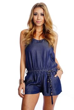 Jeans ? No jean jumper/ romper! Love it ! Cute worn baggy and casual! Perfect!