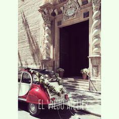 #cocheboda #bodas #decoracionbodas #wedding #weddingideas #ideasbodas