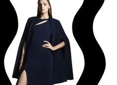 ZOYA dress / BASTIDA cape