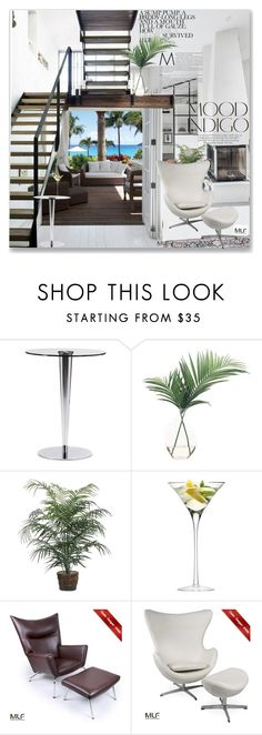 """""""Untitled #1352"""" by maja-k ❤ liked on Polyvore featuring interior, interiors, interior design, home, home decor, interior decorating, ANNA, NDI, LSA International and modern"""