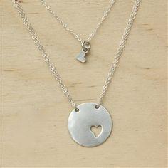 piece of my heart necklace ~ handmade revolution #hotmama #jewelry #love