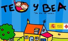 Teo y Bea un día en casa. Seguridad infantil