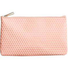 H&M Make-up bag (€2,82) ❤ liked on Polyvore