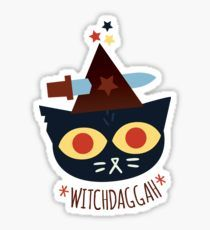 WitchDaggah - Night in the Woods Sticker