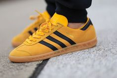 adidas Originals Hamburg: Yellow/Black