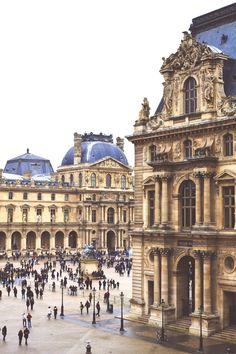 Musée du Louvre in Paris, France