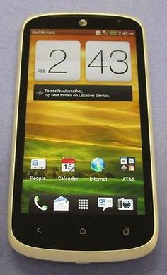 HTC One VX 8GB White (Unlocked) CLEAN IMEI AT&T Good Condition