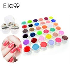 Vind meer nagel gel informatie over 36 Kleuren Pure Kleur UV Nail Gel Polish Extension Professionele Nagel Gel Art Decoraties Gereedschap Manicure Nagellak 1694711, Hoge Kwaliteit art blade, Chinese art nagel ontwerpen Leveranciers, Goedkoop nail art digitale printer van SZ Lan Ling Xin Technology Co., Ltd op Aliexpress.com