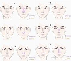 меняем форму носа