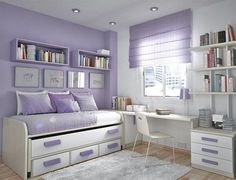 "Read More""Cute for a teen bedroom - I'd have that as my bedroom layout REGARDLESS of being a teen or not (which I am not one) :P"", ""Cute for a teen bedroom"
