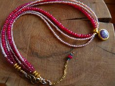 Read this week's post on the sublime & kingly RUBY! #ruby #beads #handmade #jewelry #gemstone #necklace #artisan jewelry #designer jewelry #gemstone jewelry #jewelry designer #jewelry artisan #ruby beads