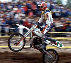 Kess VDV KTM 250 1982 Ktm 250, Vintage Motocross, Old Images, Van, Racing, Passion, Motorcycle, Bike, Memories