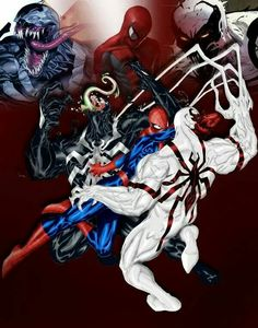 Spider-Man vs Venom and Anti-Venom