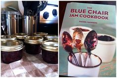 The Blue Chair Jam Cookbook and Strawberry Jam with Aged Balsamic and Black Pepper