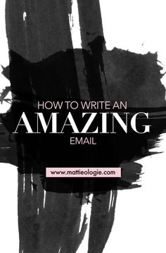 Think you know about writing epic emails? Think again. Mattie is the expert on this; you don't want to miss what she has to teach us!