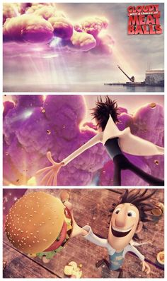 Coming Soon: Cloudy With A Chance of Meatballs 2...a definite must see! LOVE THIS MOVIE!!!