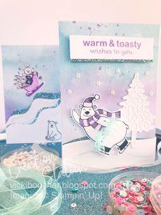 Stampin' Up! 2020 Mini Catalogue - Warm & Toasty Stamp Set, Pine Wood Dies & Snowflake Splendor DSP