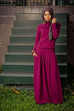 Stylish, Elegance & Comfort. (by Sufyaa Contemporary Hijab) http://lookbook.nu/look/2631053-Stylish-Elegance-Comfort