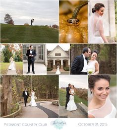 Piedmont Country Club wedding