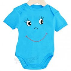 Body Smiley #body #bebe #verano #smiley #azul #kinousses