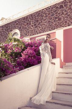 Honeymoon Photo Shoot in Oia Honeymoon Photography, Wedding Photography, Santorini Honeymoon, Santorini Photographer, Photo Shoot, Wedding Dresses, Fashion, Marriage Dress, Gowns