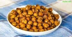 Wusstest du wie einfach sich Kichererbsen in einen köstlichen Snack verwandeln lassen? Kichererbsen selbst backen als gesunde Alternative zu Chips & Co!