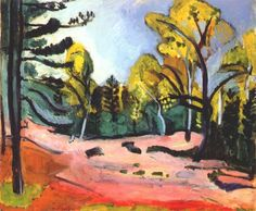 Forest of Fontainebleau by Matisse