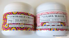Better Skin Mirakle Cream and Lava Magik