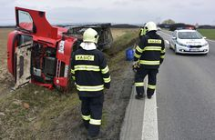 Slow down and put the phone down: first responders on Slovak roads have been busy recently with a Ukrainian truck overturning near Trebišov and then a serious accident near Trnava injuring three; one of which needed to be airlifted to hospital. Photos: TASR