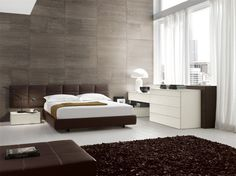 Chocolate Domino Bed | ColombiniCasa