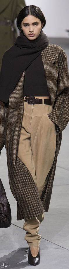 Fall 2017 RTW Michael Kors Collection - contemporary version of the 30s masculinity