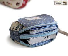 sew double coin purse - Buscar con Google