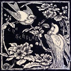 Seven Ages of Bird Life - Mintons China Works - The Decorated Tile Wiki