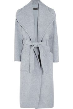 THEYSKENS' THEORY Belted wool-blend coat