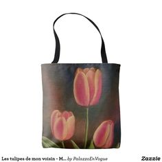 Les tulipes de mon voisin - My  tulips Tote Bag, Bags, Style, Tulips, Handbags, Swag, Totes, Bag, Outfits